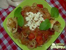 Czerwone spaghetti