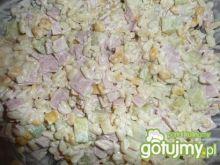 czosnkowa sałatka