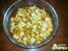Czosnkowe grzanki pszenne