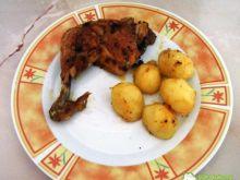 Czosnkowe udka z kurczaka