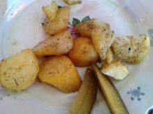 Czosnkowe ziemniaczki