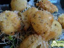 Czosnkowo- ziołowa mini mozzarella
