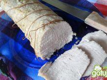 Czosnkowy schab do chleba