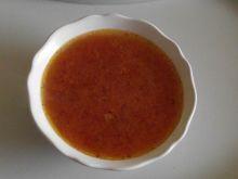 Czysta pomidorowa z papryką i suszonymi pomidorami