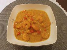 Danie jednogarnkowe - curry z krewetkami