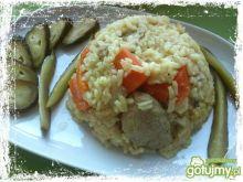 Danie jednogarnkowe z wieprzowiną i ryże