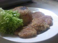 Danie wegetariańskie z ryżem i soją