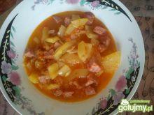 Danie z cukinii i pomidorów na obiad