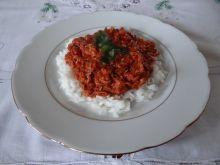 Danie z mięsa i warzyw z rosołu