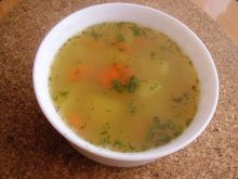 Debiutancka zupa z soczewicy