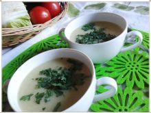Delikatny krem szparagowo-ziemniaczany z curry