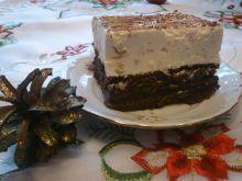 Delikatny sernik z białą czekoladą