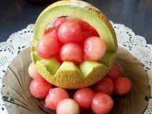 Deser arbuz w melonie