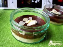 Deser bananowo - czekoladowy