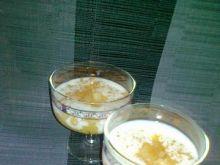 Deser cynamonowo-jabłkowy na kaszce