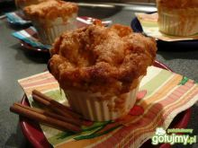 Deser jabłkowy z kruszonką na ciepło