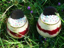 Deser kawowo-malinowy z orito