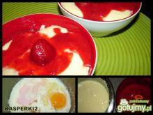 Deser kluseczkowo-truskawkowy cz.4