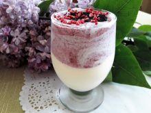 Deser lodowy jagodowy