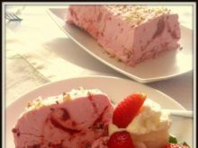 Deser lodowy malinowo-truskawkowy