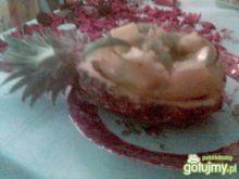 Deser lodowy z owocami