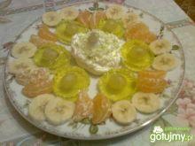 Deser owocowo-galaretkowa fantazja