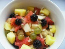 Deser owocowy by Noruas