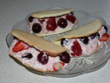 Deser owocowy  kremowy