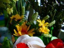 Deser owocowy z błonnikiem