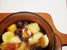 Deser owocowy z galaretką