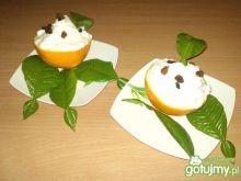 Deser Pół Pomarańczy