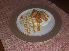 Deser pomarańczowo jabłkowy