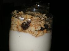 Deser rabarbarowo-jogurtowy