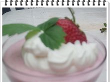 Deser serowo - truskawkowy Eli
