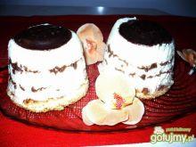 Deser śmietankowo-czekoladowy
