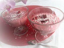 Deser truskawkowy w mleczku kokosowym