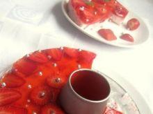 Deser truskawkowy wg p.jola1