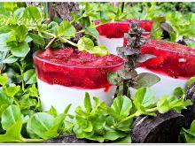 Deser truskawkowy z mascarpone i jogurtem