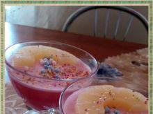 Deser wiśniowo ananasowy