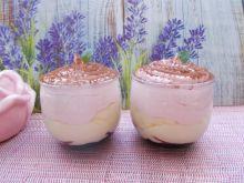 Deser z białą czekoladą