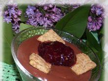 Deser z ciasteczkiem zbożowym