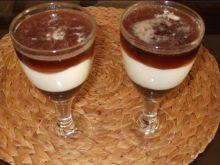 Deser z coca- colą