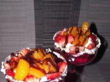 Deser z galaretką i owocami wg Konczi