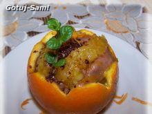 Deser z kaszki w pomarańczy