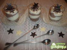 Deser z kaszy manny dwukolorowy