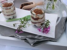 Deser z kaszy manny i czekolady