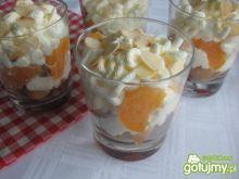 Deser z mandarynkami i amarettini