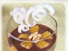 Deser z ryżową serpentynką