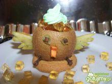 Deserek dla dzieci  szary kurczaczek