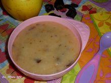 Deserek: Kasza manna z jabłkiem i śliwką